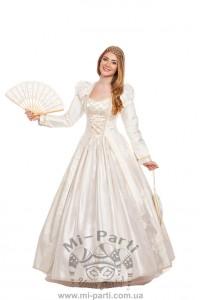 Костюм ренессансное свадебное платье