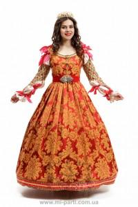 Костюм середньовічної італійської принцеси