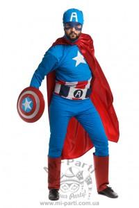 Костюм сміливого Капітана Америки