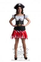 Костюм красивой пиратки