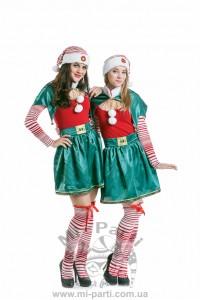 Костюм різдвяного ельфа