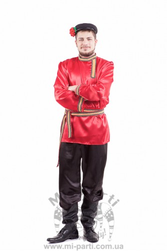 Костюм русского парня