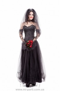Костюм готичної нареченої
