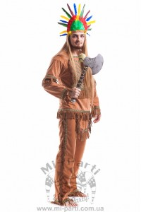 Костюм індіанця майя
