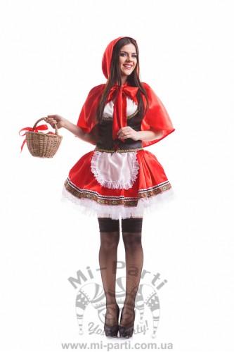 Костюм веселой Красной Шапочки