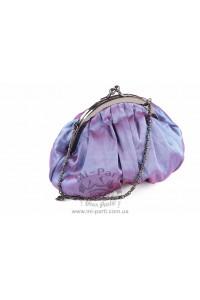 Фиолетовая сумка-кошелек