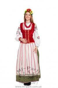 Костюм веселої українки