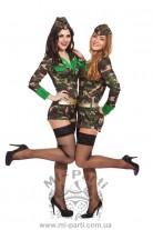 Костюм армейской девушки