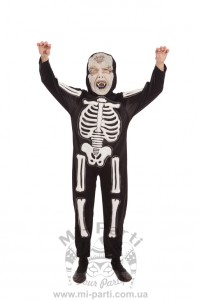 Костюм маленького скелета
