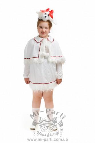 Костюм белой собачки