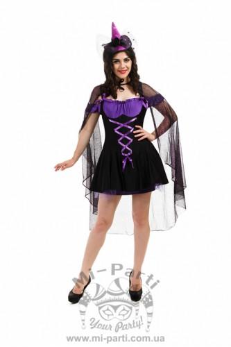 Костюм хэллоуинской ведьмочки