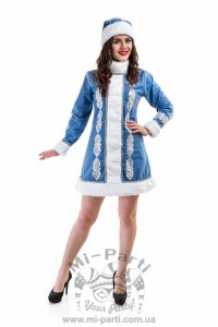 Костюм блакитної Снігуроньки