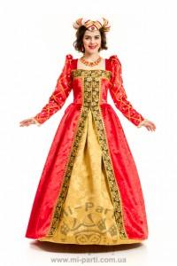 Костюм королевы Англии