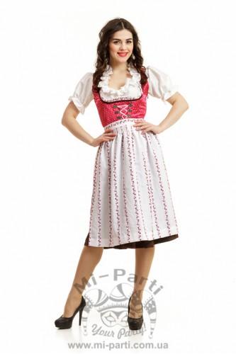 Костюм баварской девушки