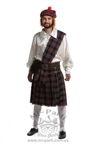 Костюм веселого шотландца