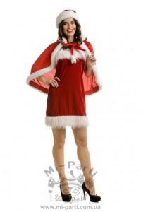 Костюм помічниці Санта Клауса