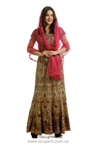 Костюм индийской танцовщицы