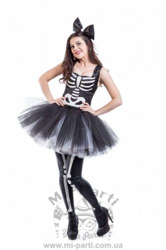 Костюм девушки скелета