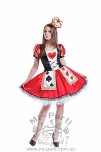 Костюм королевы карт