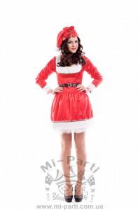 Костюм місіс Санта-Клаус