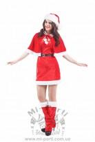 Костюм веселой миссис Санта-Клаус