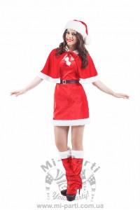 Костюм веселої місіс Санта-Клаус
