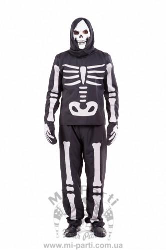 Костюм страшного скелета