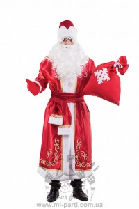 Костюм святкового Діда Мороза