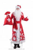 Костюм новогоднего Деда Мороза