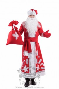 Костюм новорічного Діда Мороза