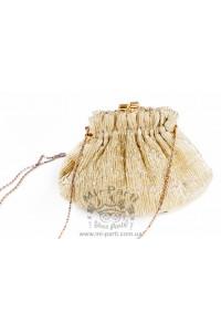 Золотая сумка-кошелек