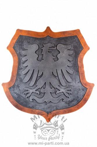 Щит с серебряным орлом